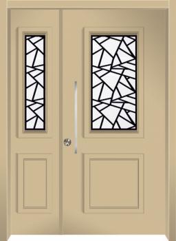 דלת מדגם: 16032