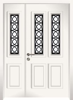 דלת מדגם: 17033