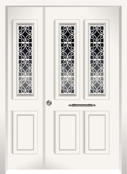 דלת מדגם: 17035